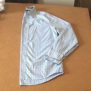 Michael Kors plaid button down shirt Size Medium
